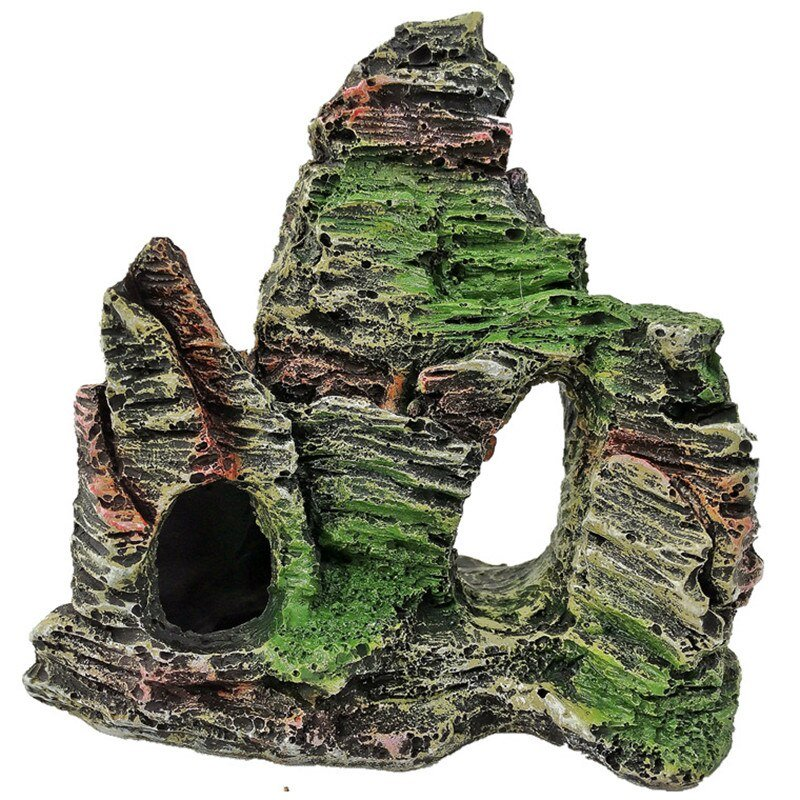 Resin Mountain Stone Cave Decoration